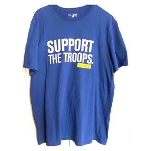 Under Armour Men's Support the Troops Shirt
